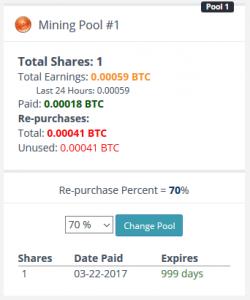 Mining Pool erster Bitcoin