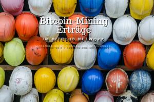 Bitcoin-Mining-Erträge September 2017
