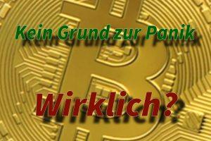 Panik bei Kryptowährungen