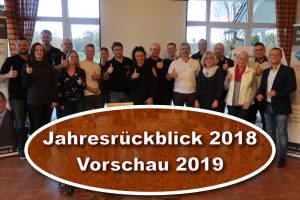 Jahresrückblick 2018 Vorschau 2019